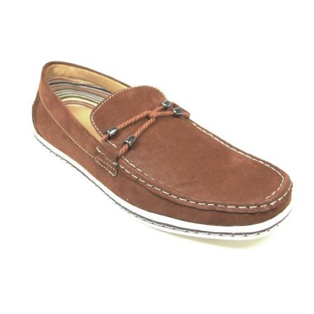 j'aime aldo  polar fox men's 30206brown modern slip on