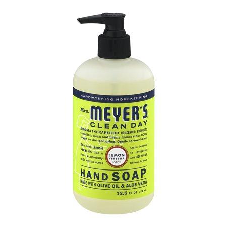 Mrs. Meyer's Clean Day Liquid Hand Soap, Lemon Verbena, 12.5 Fluid Ounces