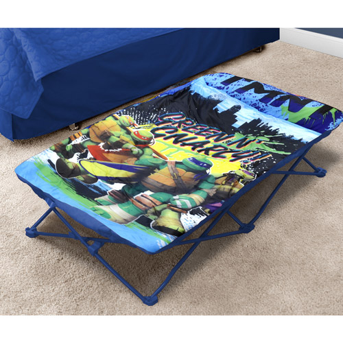 Nickelodeon Teenage Mutant Ninja Turtles Portable Travel Bed