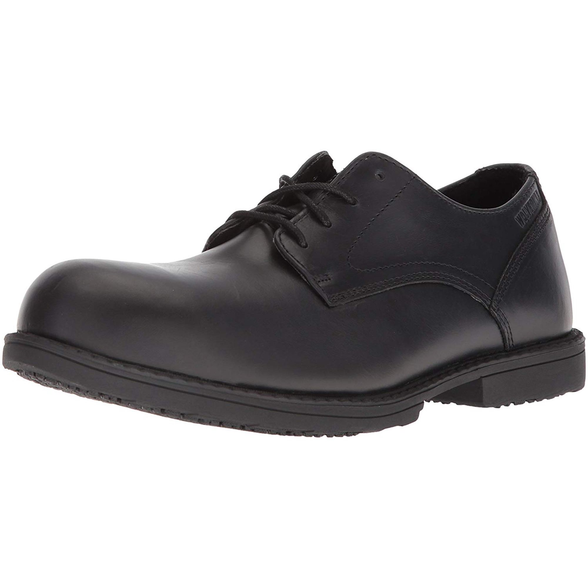 226dc53440f Wolverine Men's Bedford Steel-Toe Oxford SR Industrial Shoe ...