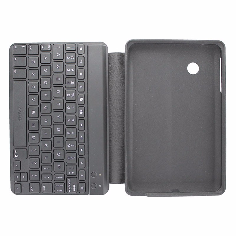 ZAGG Keys Bluetooth Keyboard Case for Verizon Ellipsis 7 Black