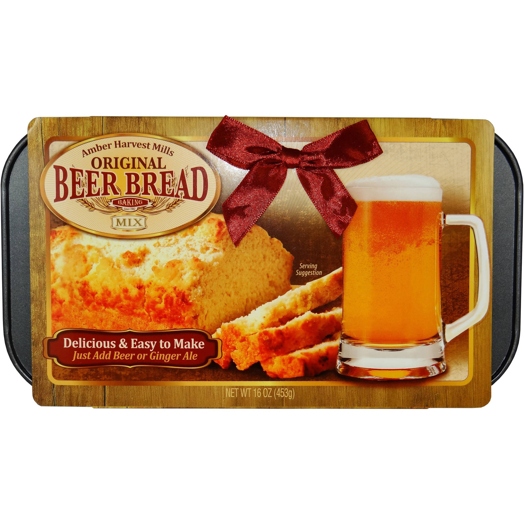 Amber Harvest Mills Beer Bread Mix Holiday Gift Set, 2 pc