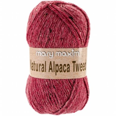 - Natural Alpaca Tweed Yarn