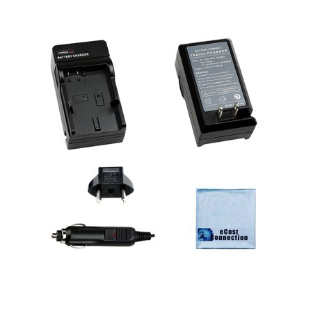 Battery Charger for Samsung Camera Battery ED BP1130 for NX 300 NX 2000 Models Microfiber Cloth