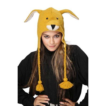 Kangaroo Pom Pom Knit Hat  By Bzany