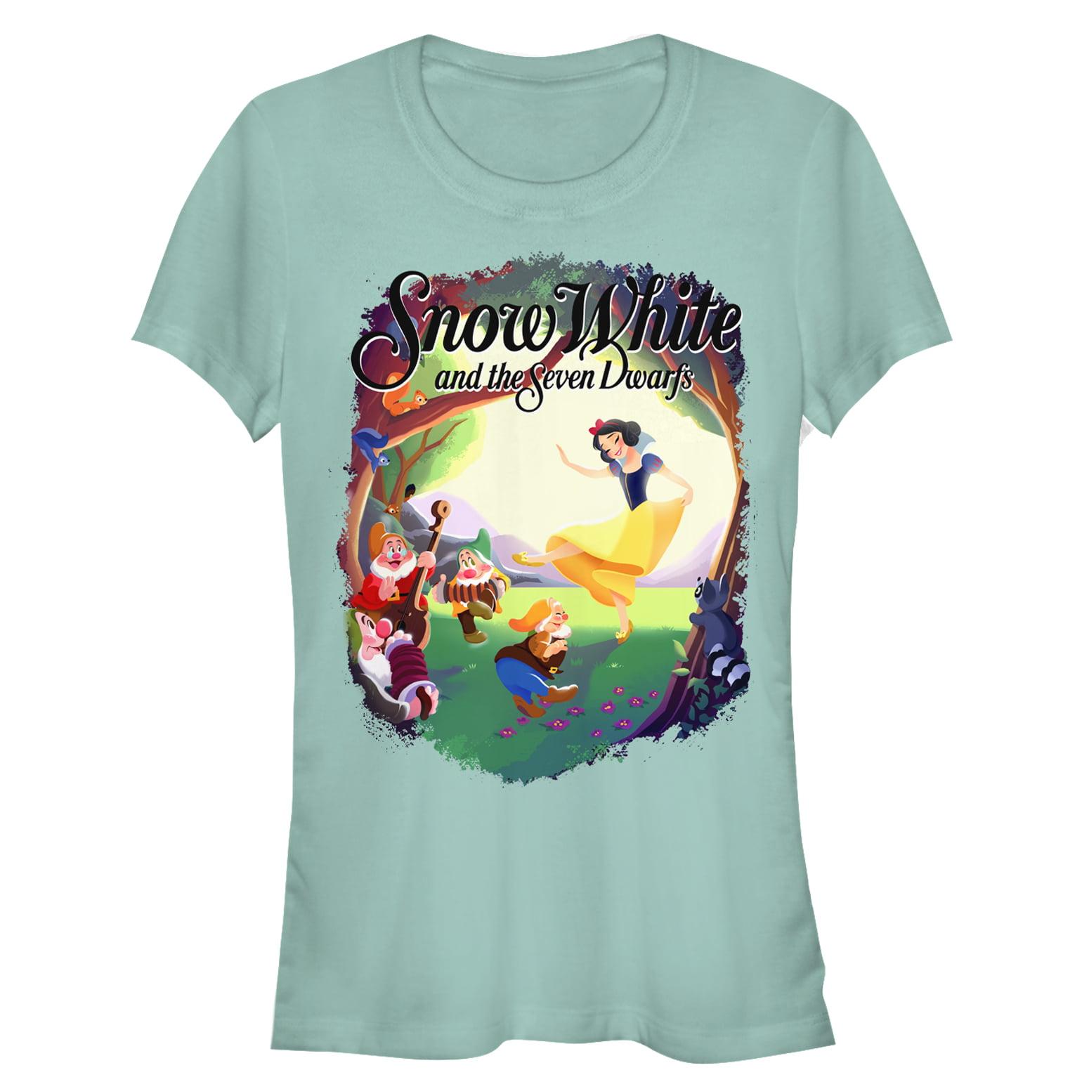 Snow White and the Seven Dwarves Juniors' Dance Scene T-Shirt