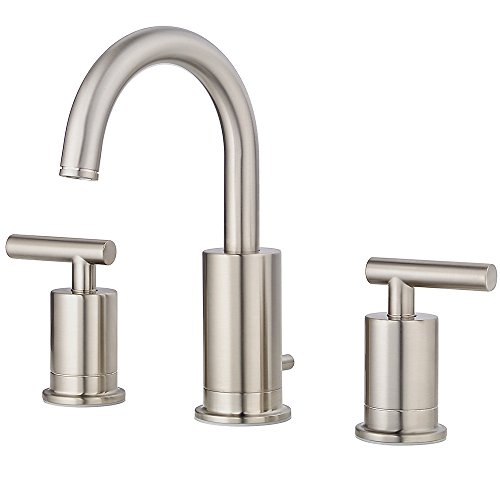 Pfister Contempra Double Handle Centerset Faucet Bathroom Faucet with Drain Assembly by Pfister