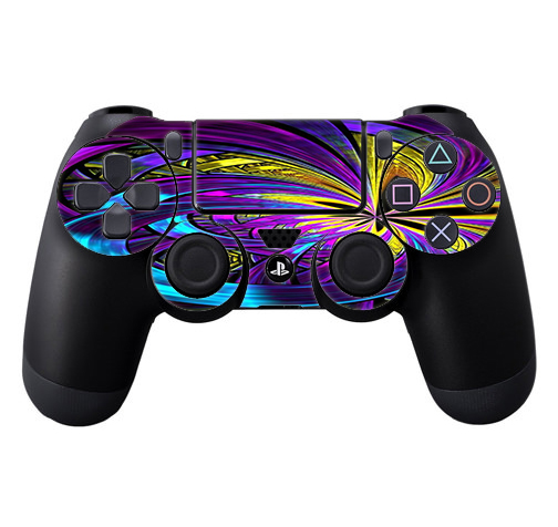 Skins Decals For Ps4 Playstation 4 Controller / Purple Beautiful Design