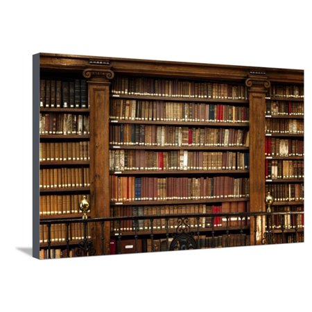 Library Books Stretched Canvas Print Wall Art By manuart - Walmart.com