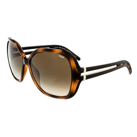Chloe CE650S 219 Tortoise Oversized Rectangular Chloe sunglasses