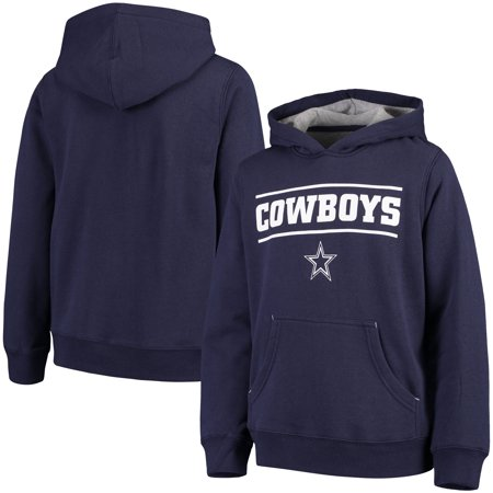 Youth Navy Dallas Cowboys Hal Pullover Hoodie