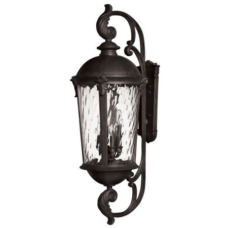 Hinkley Lighting 1929Bk 42  Height 6 Light Lantern Outdoor Wall Sconce In Black