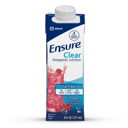 ENSURE CLEAR MIXED BERRY - 4 CASE SPECIAL - 4 CASES OF 24