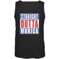 6e7363fd Product Image July 4th Straight Outta Murica America Funny Mens Tank Top