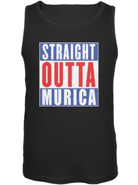 6ff2718739ead Product Image July 4th Straight Outta Murica America Funny Mens Tank Top