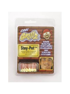GRILLZ TEETH-GOLD