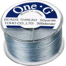 - Toho One-G Beading Thread Gray, 50 Yard spool