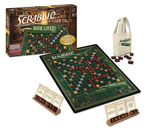 Book Lover's Scrabble by