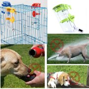 Portable plastic Pet Dog Feeding Water Bottle No Drip Top-Fill Water Bottle Drinker Water Dispenser Feeder Outdoor Travelling