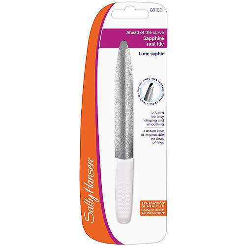 Sally Hansen Ahead Of The Curve Sapphire Nail File, 1ct