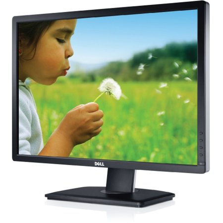 Dell 817-BBEF Dell UltraSharp U2412M 24; LED LCD Monitor - 16:10 - 8 ms - Adjustable Display Angle - 1920 x 1200 - 16.78 Million Colors - 300 Nit - 2,000,000:1 - WUXGA - DVI -
