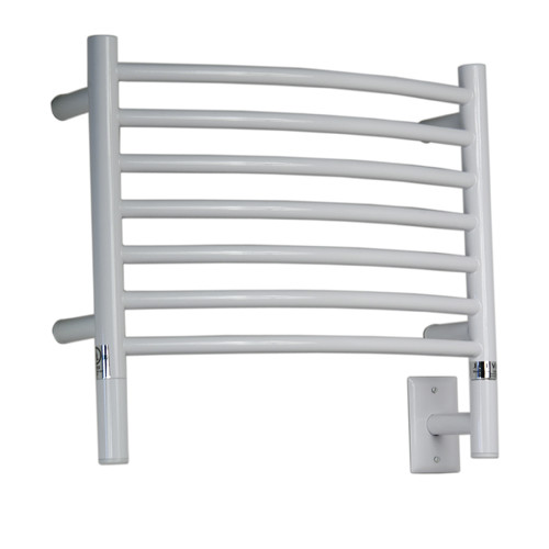 Amba Jeeves Wall Mount Electric H Curved Towel Warmer