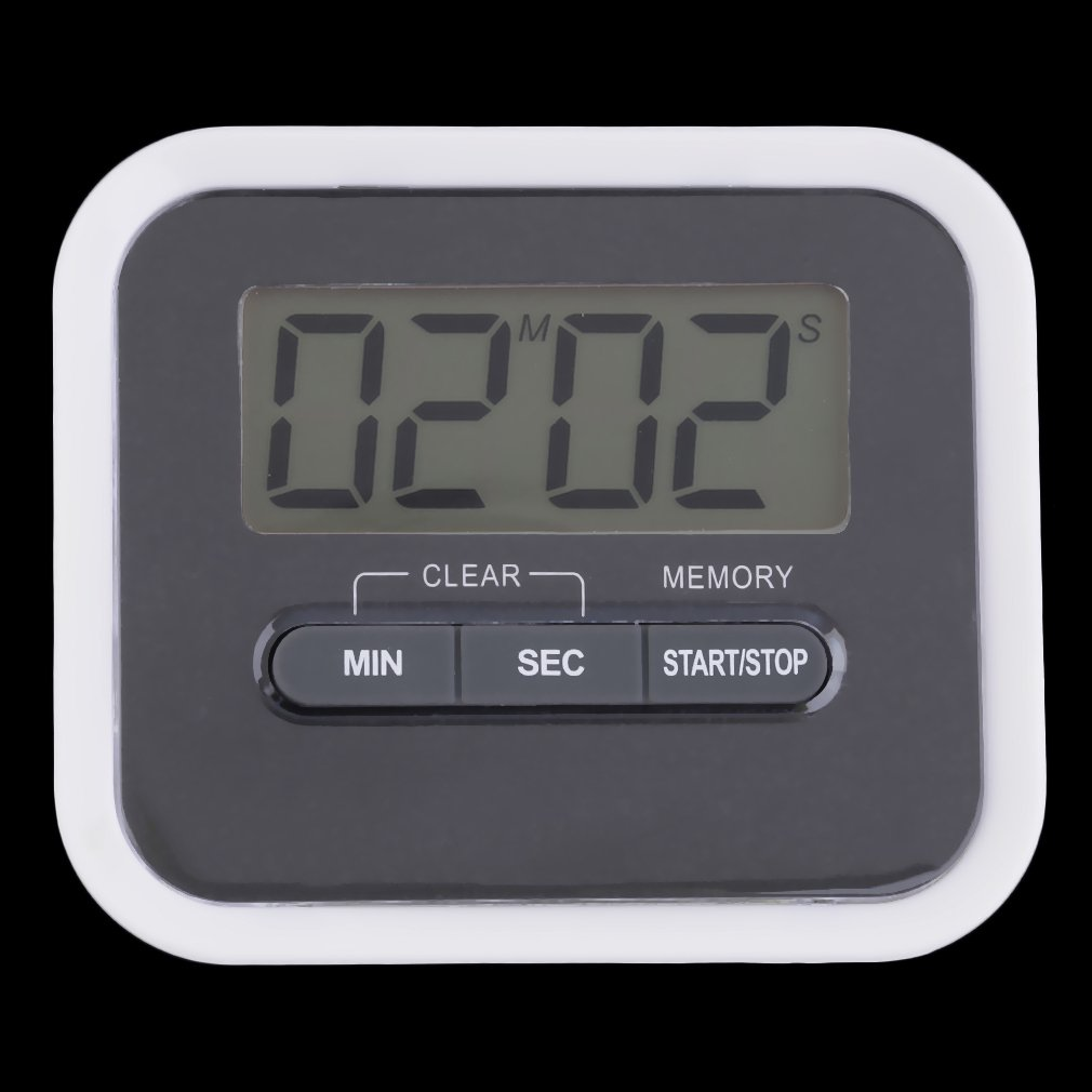 Large LCD Digital Kitchen Cooking Timer Count-Down Up Clock Loud Alarm