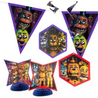 Five Nights at Freddy's Party Decorating Kit, 7pc