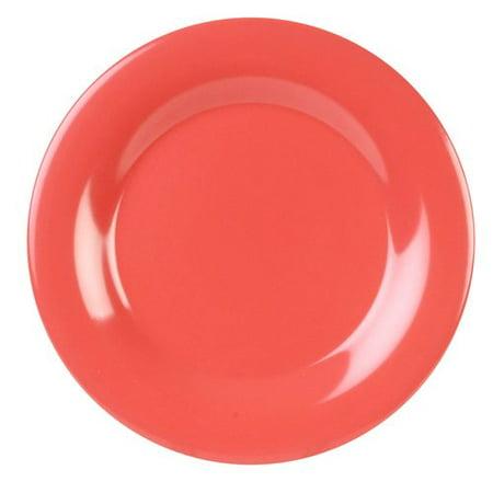 (Red Barrel Studio Kline Melamine Wide Rim Round 10.5'' Dinner Plate (Set of 12))