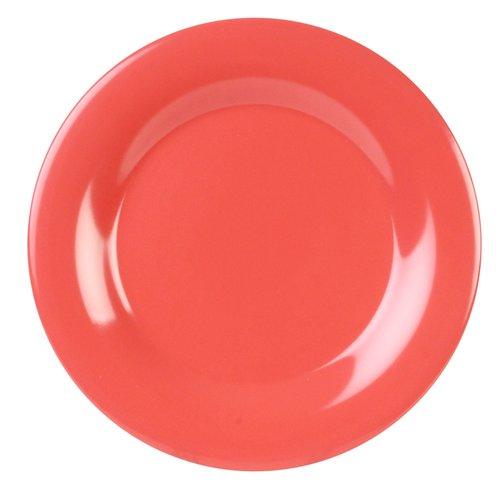 Red Barrel Studio Monetta Melamine Wide Rim Round 7.63'' Appetizer Plate (Set of 12)