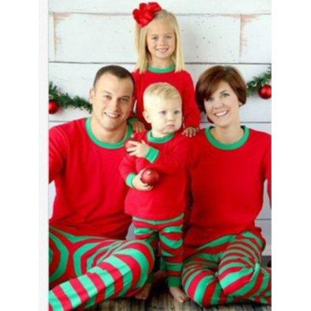 Christmas Family Pajamas Set.Sweetlife Sweetlife Christmas Family Matching Sleepwear