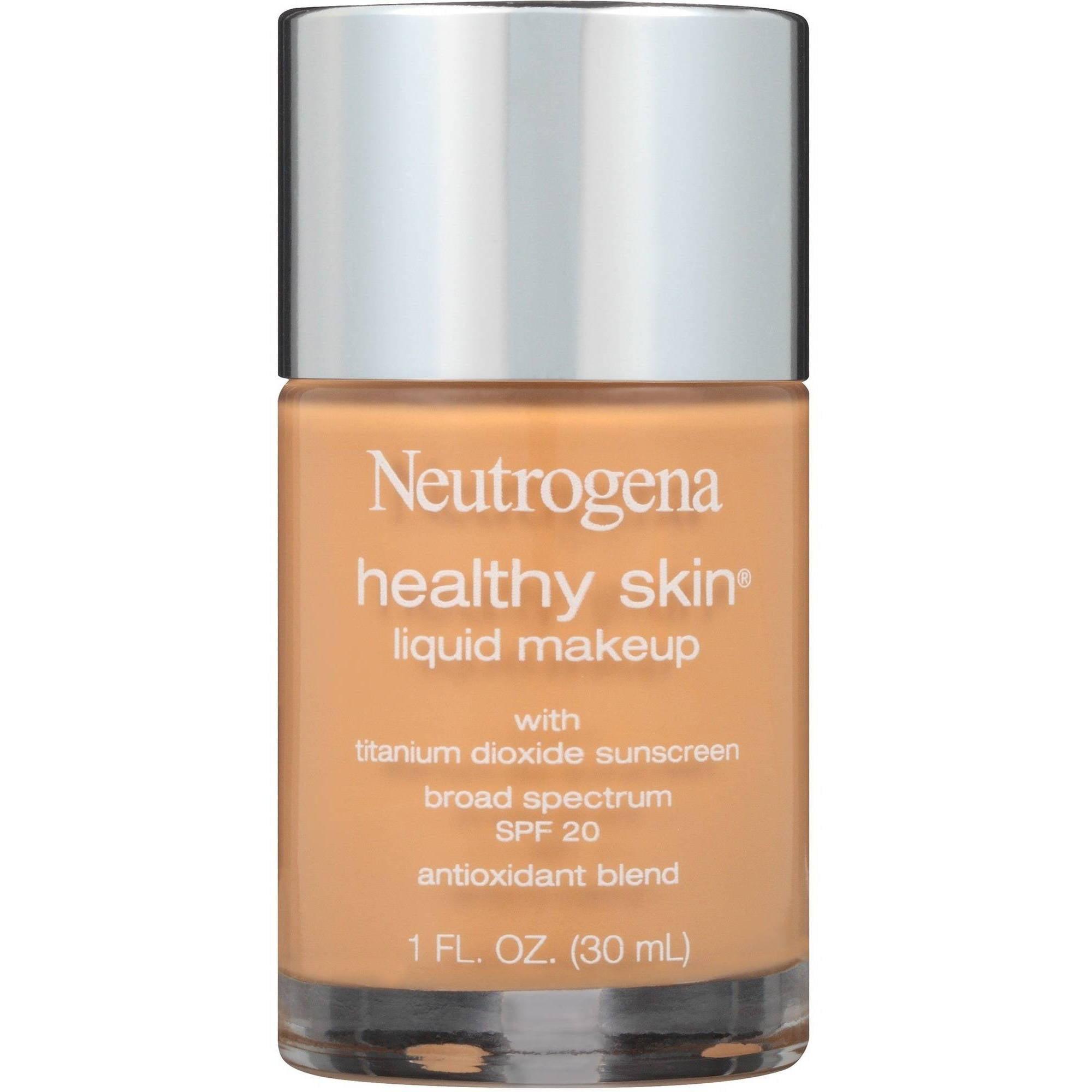 Neutrogena Healthy Skin Liquid Makeup, SPF 20, 85 Honey, 1 fl oz