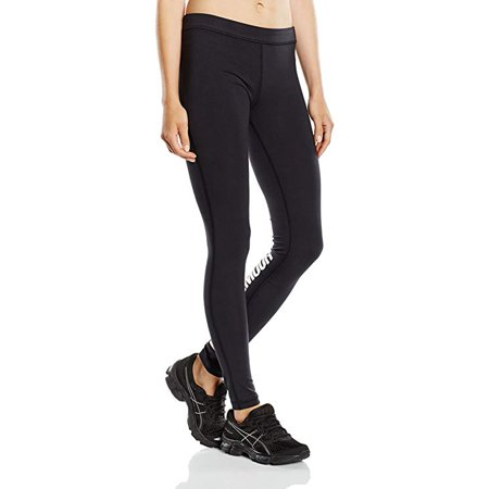 Under Armour Favorite Legging-Wordmark  Running Tights, Black,  - Under Armour Running Tights