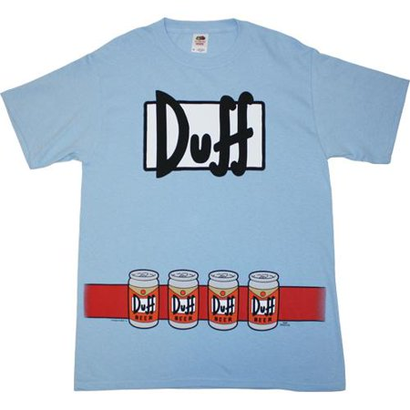 Simpsons Duffman Costume T-Shirt