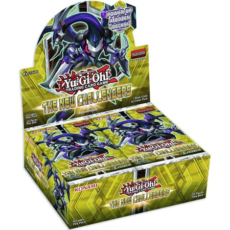 Yugioh The New Challengers 1st Edition Booster Box SEALED Multi-Colored
