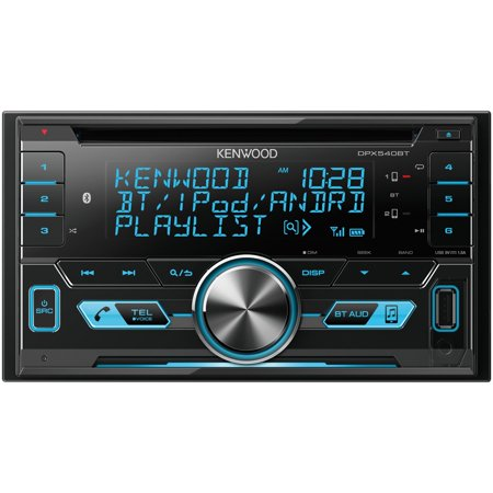 Kenwood DPX540BT Double-Din In-Dash AM/FM Media Receiver With Bluetooth ()