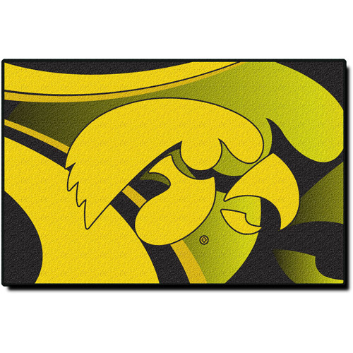 "NCAA Iowa Hawkeyes 39"" x 59"" Rug"