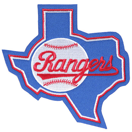 Texas Rangers Retro Patch - No Size