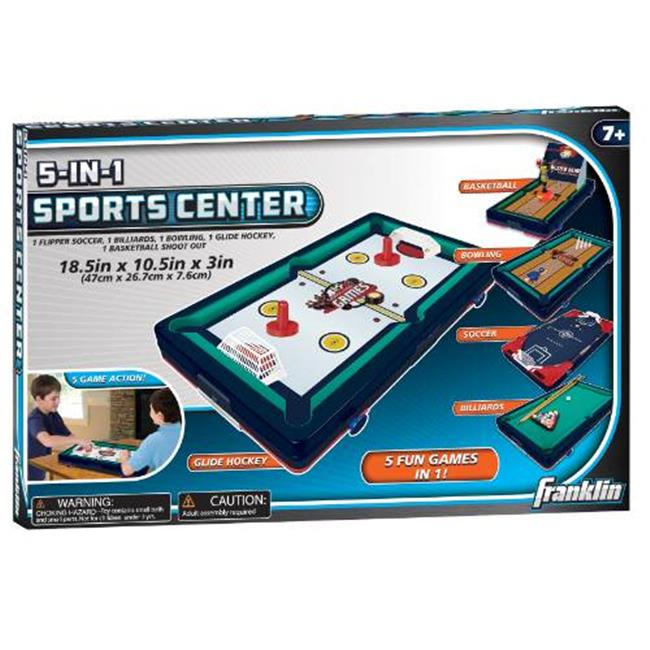 Franklin Sports 55999 Sports 5 In 1 Sports Center Table Top