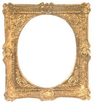 Dollhouse Frame, Gold, 3 X 2 3/4