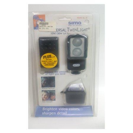 Sima Video Mixer (Sima SL-8 Universal Twinlight 10W/30W Self Powered Video)