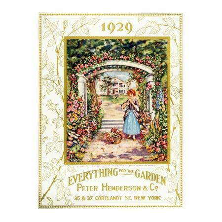 Peter Henderson & Co garden supple catalog from 20th century - Co Catalog