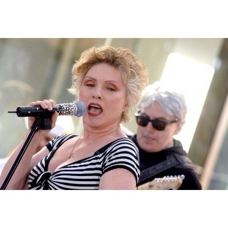 BlondieS Deborah Harry Chris Stein On Stage For The Nbc Today Show Concert With Blondie And Lily Allen Rockefeller Center New York Ny May 25 2007 Photo By George TaylorEverett Collection Celebrity ()