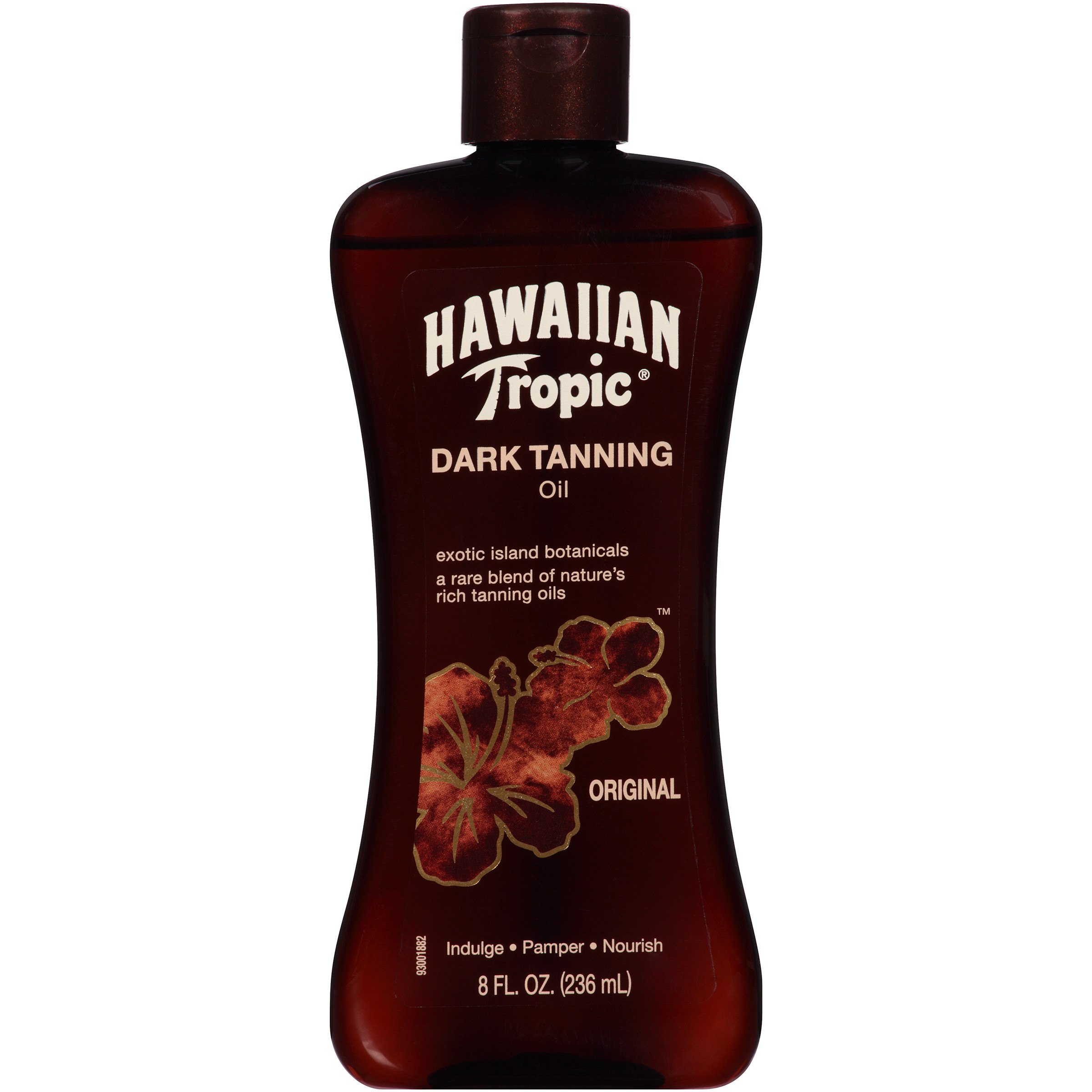 Hawaiian Tropic Dark Tanning Oil - 8 Ounces
