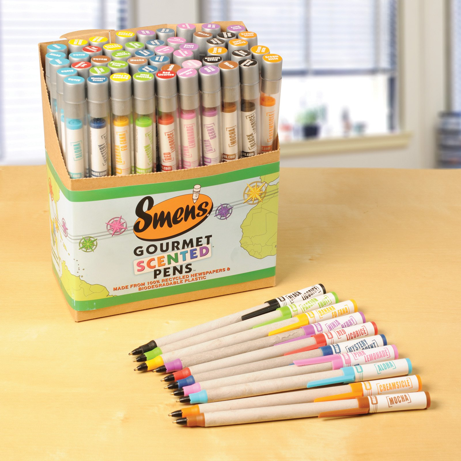 Educational Insights Smens Scented Pens - 50 Pack