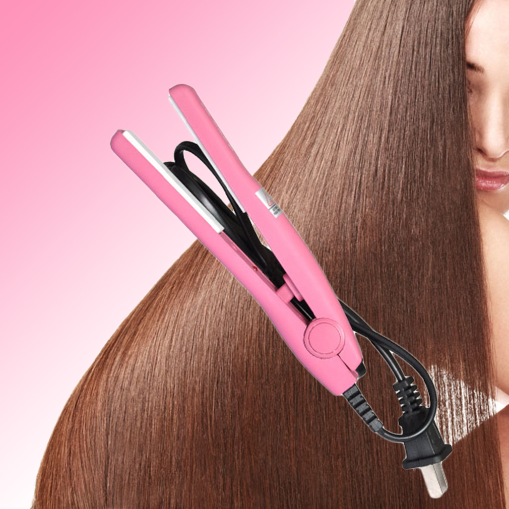 Hair Flat Iron Ceramic Tourmaline Hair Straightener Professional Home Use