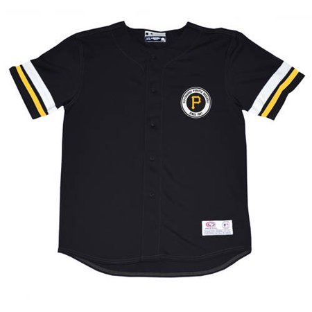 competitive price 8d56f 5c198 MLB Pittsburgh Pirates Youth Boys Poly Button Down Jersey, 2XL