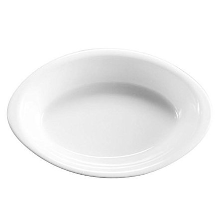 Hall China 4544-WH White 9 Oz. Oval Baker - 24 /