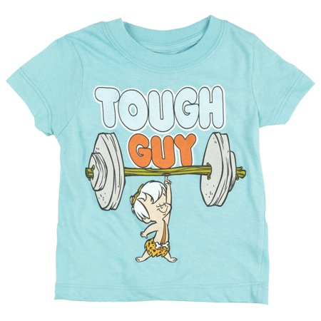 Toddlers Flintstones Bam Bam Tough Guy T-Shirt Boys - The Flinstones Bam Bam