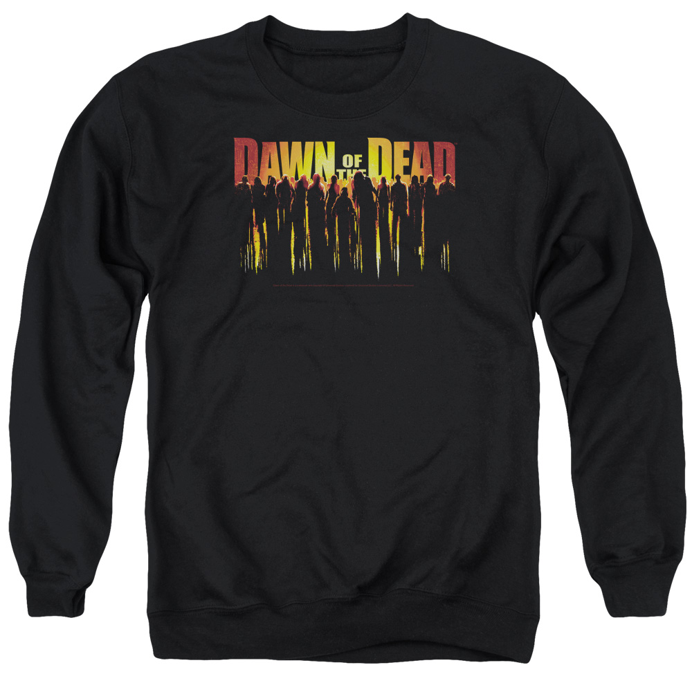 Dawn Of The Dead Walking Dead Mens Crewneck Sweatshirt